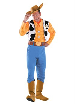 Adult Deluxe Woody Costume 50550
