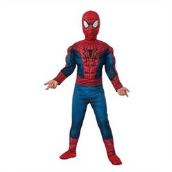 Kids Deluxe Amazing Spiderman 2 Fiber Fill Costume 620045