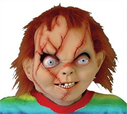 Adult Seed of Chucky Costume Mask 6003BS