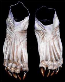 Adult Flesh Monster Feet Shoes Accessory 973