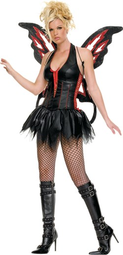 Adult Sexy Gothic Fairy Costume 83190