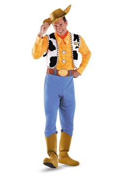 Plus Size Deluxe Woody Costume 50550D