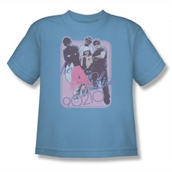 Image of 90210 Shirt Kids A List Carolina Blue T-Shirt