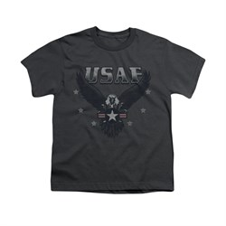 Image of Air Force Shirt Kids Eagle Charcoal T-Shirt