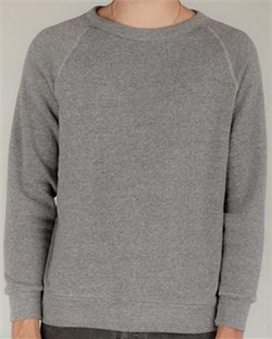 Alternative Sweatshirt Men's Champ Fleece Eco Grey Sweat Shirt