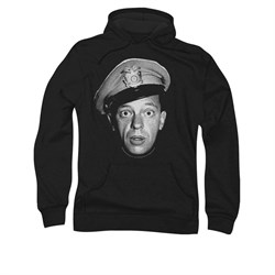 Image of Andy Griffith Hoodie Sweatshirt Barney Adult Hoody Sweat Shirt