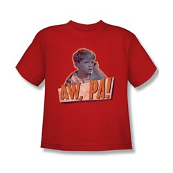 Image of Andy Griffith Shirt Aw Pa Kids Shirt Youth Tee T-Shirt
