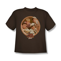Image of Andy Griffith Shirt Boys Club Brown Kids Shirt Youth Tee T-Shirt