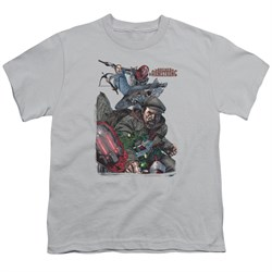 Image of Archer & Armstrong Kids Shirt Fight Back Silver T-Shirt