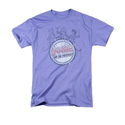 Archie Shirt Drum Head Lavender T-Shirt