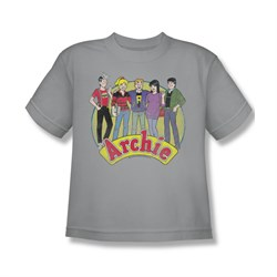 Image of Archie Shirt Kids Group Silver T-Shirt