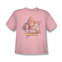 Image of Archie Shirt Kids Josie & The Pussy Cats Pink T-Shirt