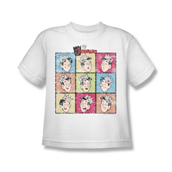 Image of Archie Shirt Kids Jughead Faces White T-Shirt