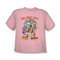 Image of Archie Shirt Kids One Night Only Pink T-Shirt