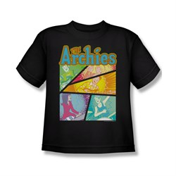 Image of Archie Shirt Kids The Archies Black T-Shirt