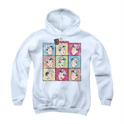 Image of Archie Youth Hoodie Jughead Faces White Kids Hoody