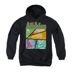 Image of Archie Youth Hoodie The Archies Black Kids Hoody