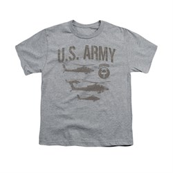 Image of Army Shirt Kids Airborne Athletic Heather T-Shirt