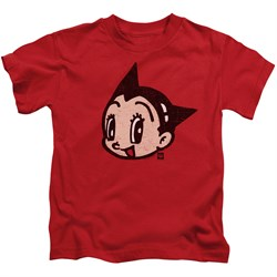 Image of Astro Boy Kids Shirt Face Red T-Shirt