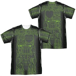Astro Boy X Ray Sublimation Shirt Front/Back Print