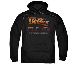 $39.99 - Adults Back To The Future II Hoodie Sweatshirt - S to 3XL