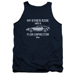 $19.99 - Official My Other Ride is a Flux Capacitor Tank Top - S to 2XL