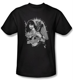 Betty Bettie Page Shirt Remember Black T-shirt