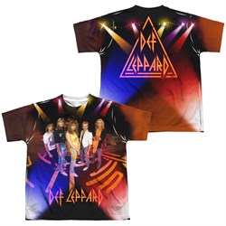 Def Leppard On Stage Sublimation Youth Shirt Front/Back Print