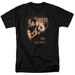 Delta Force 2 Shirt Poster Black T-Shirt