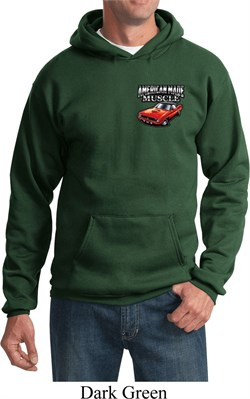 Dodge American Made Muscle Pocket Print Hoody