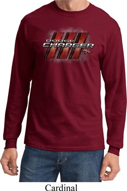 Dodge Charger RT Logo Long Sleeve Shirt