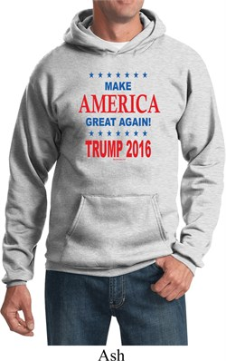 Donald Trump Hoody Make America Great Again Text