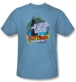 Fast Times At Ridgemont High T-Shirt Tasty Waves Carolina Blue Shirt