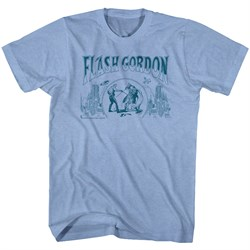 flash gordon t shirt flash blue adult turquoise heather tee shirt The giant girl appeared in the city area of night. Many casualties, such as ...