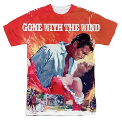 Gone With The Wind Poster Sublimation Shirt