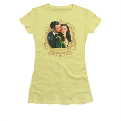 Gone With The Wind Shirt Juniors Gone Scrolling Banana Tee T-Shirt
