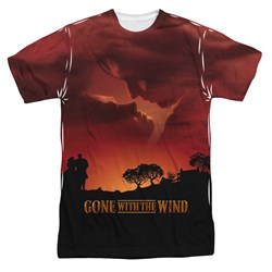 Gone With The Wind Sunset Sublimation Shirt