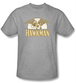 Hawkman Kids T-Shirt - Fly By DC Comics Athletic Heather Tee Youth