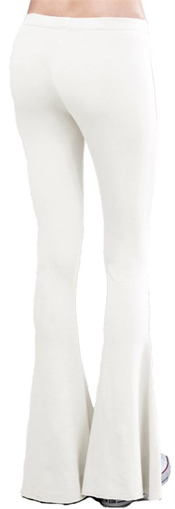 Ladies French Terry Bell Bottom Yoga Pants
