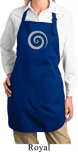 Image of Ladies Yoga Apron Vortex Full Length Apron with Pockets