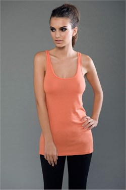 Image of Ladies Eco-Hybrid Yoga Tank - Made in the USA