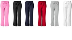 Image of Ladies Heavy Blend Yoga Style Sweatpants