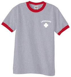 Product Image of Lifeguard Ringer Shirt Pocket Print