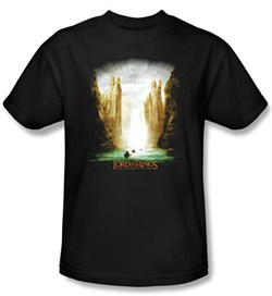 Lord Of The Rings Kids T-Shirt The Fellowship Of The Ring Poster Shirt