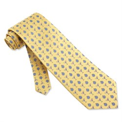 Martini Time Yellow Silk Tie Necktie? Men?s Food Drink Neck Tie