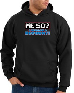 Image of 50th Birthday Hooded Hoodie Funny Me 50 Years Black Hoody Sweatshirt