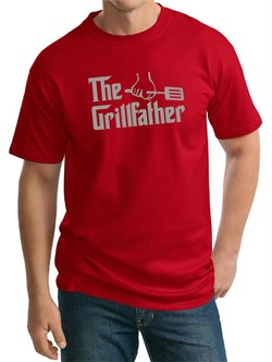 Mens Funny Shirt The Grill Father Tall Tee T-Shirt