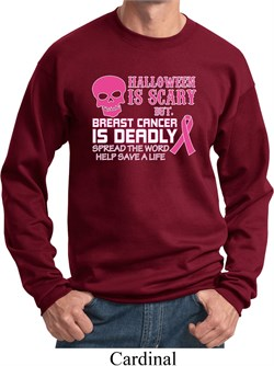 mens-sweatshirt-halloween-scary-breast-cancer-deadly-sweat-shirt