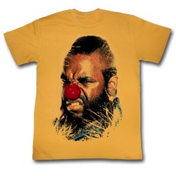 Mr. T Shirt Why Must I T Adult Orange Heather Tee T-Shirt