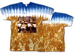 Image of Pink Floyd T-shirt - Momentary Lapse Beds Tie Dye Tee